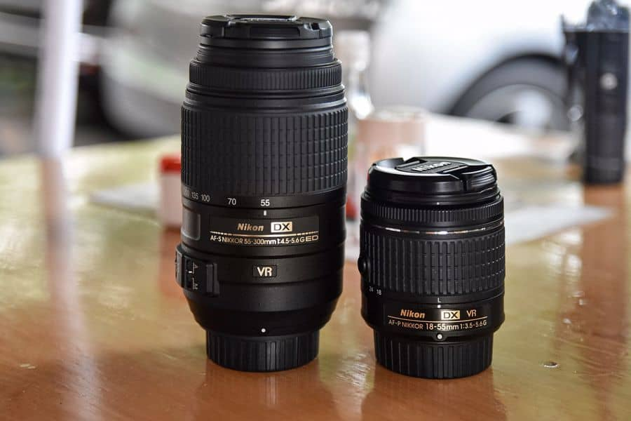 Both camera lens with VR